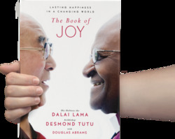 Share International January / February 2017 images, cover photo for The Book of Joy: Lasting Happiness in a Changing World