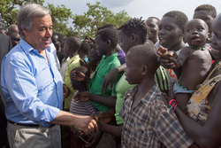 Share International October 2017 images, António Guterres: I hope that young people will push their societies, their communities, their governments to understand that they need to have policies of social cohesion