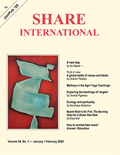 Share International magazine cover for 2020